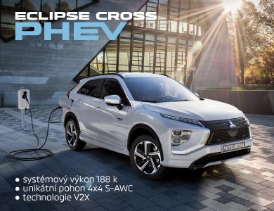 Eclipse Cross PHEV 4x4 již brzy!