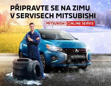Připravte se na zimu v servisech Mitsubishi