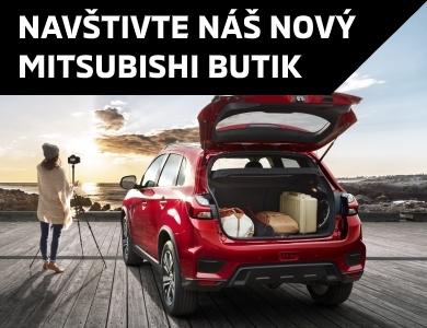 NOVÝ BUTIK MISTUBISHI