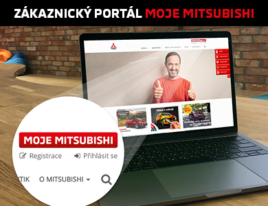 Aplikace Moje Mitsubishi