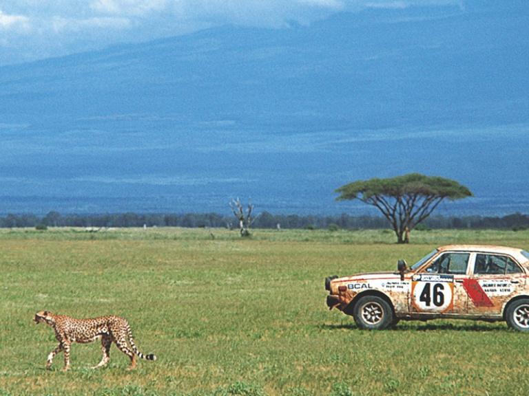 Mitsubishi Lancer 1600 GSR Rallye Safari 1974